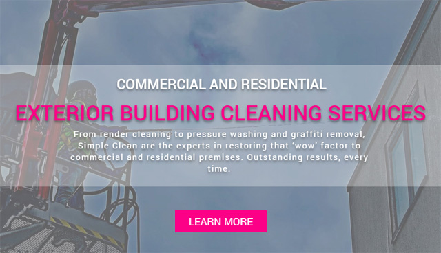 Exterior Building Cleaning Services